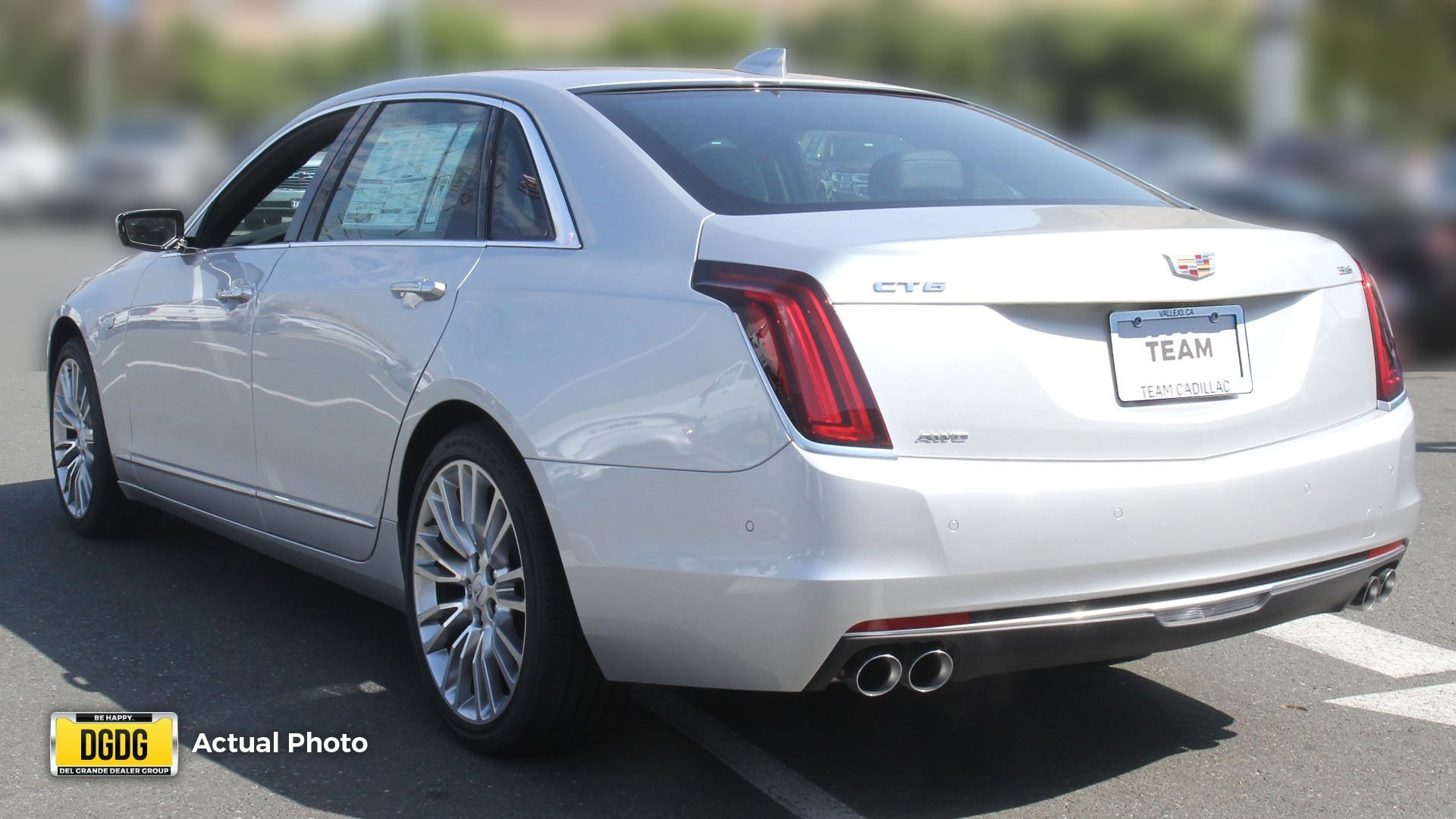 New 2017 Cadillac CT6 Luxury AWD