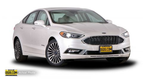 New 2018 Ford Fusion Hybrid Platinum